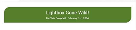 LightBox Gone Wild