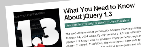 jQuery1.3について知るべきこと