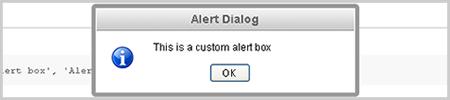 jQuery Alert Dialogs