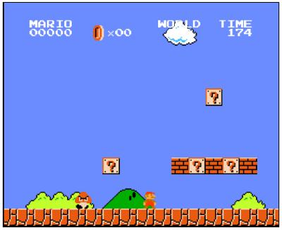 Super Mario in 14kb Javascript