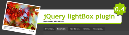 jQuery LightBox plugin